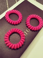 Wholesale Korean version of the new sweet telephone line telephone rope hair accessories headdress phone ring ring ring head high elastic rubber band