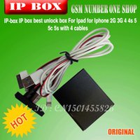 Wholesale IP BOX for Flash and repair Iphone s c s screen touch id dhl ems