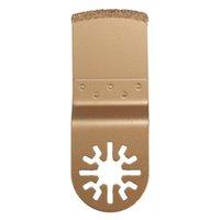 Wholesale 1pcs Diamond Carbide Oscillating MultiTool Saw Blade Fits Fein Multimaster Gold Metal Cutting Tool Wood Cutter Price