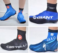 cycling shoes - 2014 New design Tour De France cycling team bike bicycle shoe covers windstopper waterproof cycling shoe covers feet Leg warmers