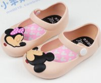 Wholesale Mini Melissa shoes melissa mickey Girls Sandals mini melissa mickey shoes For Girls sandals melissa baby shoes L43