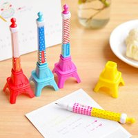 Wholesale Korea Creative Stationery Stereo Tower Shape Ballpoint Pen Lovely Eiffel Tower Style JIA229