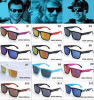 al por mayor marcas de gafas de diseño-La promoción la mayoría de los NUEVOS hombres de las gafas de sol del bloque del ken del estilo de la manera califican los vidrios de los hombres de los vidrios de los deportes de las gafas de sol del diseñador MOQ = 50pcs