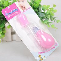 Wholesale Baby Newborn Nasal Aspirator Pinpet Drencher Baby Feeding Health Care Babies Children Accessory colors good quality G237