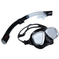 Wholesale 2IN1 Swimming Diving Protective Goggle Breathing Tube Snorkeling Mask Set PTSP