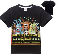 Wholesale HOT Fashion T shirt Five Nights at Freddy s children s wear t shirts The children s short sleeve T shirt