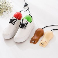 Wholesale Hot Sale Electric Cartoon colorful Cute Shoe Dryer with Heater Dehumidify Design factor Deodorizer Shoe warmer