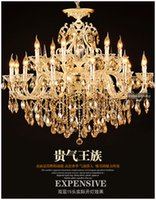 asfour crystal - CE amp UL Modern Luxury Asfour Crystal and Gold Pendant Light with Years Warranty on Sale Model CC N062