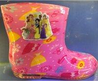 Wholesale AAA quality dora frozen kt spiderman minnions mickey minnie thomas princess barbie colors kid girl boys rain boots gift topB1430 pair