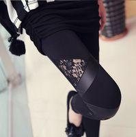 Cheap women autumn leggings Best faux leather leggings