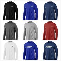 Wholesale Ravens men s long sleeved T Shirt new hot sale man t shirts autumn slim print o neck long sleeve Tshirt