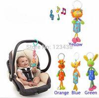 Wholesale Musical Baby Stroller Carriage Pushchair Hanger Aeolian Wind Jingle Bells Rattles Mobiles