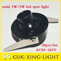 Wholesale 2016 W dimmable spotlights warm pure white V V led point light showroom mini fixture adjustable angle