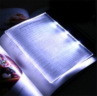 Wholesale New discover reading lamp led energy saving night light creative gift reading plate clip book Tablet eye Night Light Reading