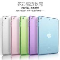 Cheap Super Thin Case for Apple iPad 2 3 4 5 6Transparent Soft TPU Silicon Perfect Fitting Back Clear Cover For Ipad Air2 Ipad Air Ipad Mini123