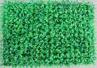 artificial grass mat - 60CM CM Artificial grass mat simulation encryption plastic grass mat lawn turf wedding home garden decorations supply in stock