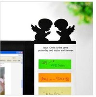 Wholesale Creative Cartoon Style Clear Computer Monitor Side Message Board Message Posted Board Notes Plate