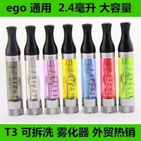 affordable electronics - Electronic Cigarette Atomizer T3 electronic smog latest gasifier detachable atomizer replace core bulk purchases prices are more affordable