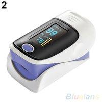 Wholesale OLED Finger Blood Fulse Rate Heart Rate Monitor Fingertip Pulse Oximeter KBK