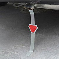 Wholesale Car Anti Static Belt safe ground belt Anti Static Earth Strap Wire Designed with a adjustable ring and a red reflector Metal