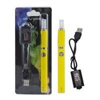 Cheap EVOD Blister kits Evod MT3 Kit Evod BCC Atomizer 1.5ML Vaporizer Evod Battery 650 900 1100 mah Come with eGo Charger