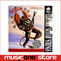 alice guitar strings price - 6pcs Super Light Alice A506 Electric Guitar Strings String Set Stainless Steel Nickel Alloy Wound Price MU0255