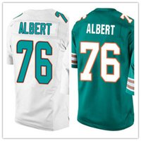 albert football - Factory Outlet Men s Branden Albert Jerseys Elite Green White Stitched Name and Number