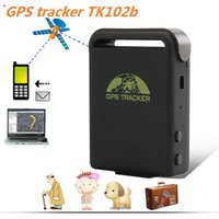 Cheap 2015 Popular portable Car or personal GPS Tracker three bands TK102 TK102B