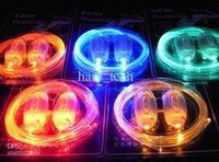 Wholesale High quality Fashion LED Flashing shoelace light up shoe laces Shoelaces gifts pairs