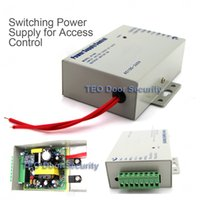Wholesale Door Access Control Power Supply DC V A AC V Brand NEW Worldwide Voltage Metal Power Supply