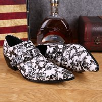 autumn shoes collection - New Fashion Autumn Collection Mens Oxford Shoes Printing leather Wedding Party Luxury Dress Shoes Male Office Shoes mens