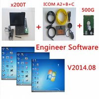 Wholesale for bmw icom ista p ista d ICOM A2 B C Diagnostic Programming For BMW ICOM A2 B C with g engineer software X200T laptop ready to work