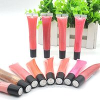 aroma makeup - Colors Liquid Lip Gloss Faint Natural Aroma Moisturizing and Shiny Nude Lip Gloss Beauty Makeup Accessory PHJ0184