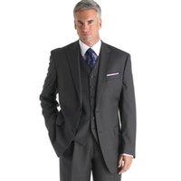 best costumes men - trajes de novio hombre Groom Tuxedos Two buttons Best Three piece latest coat pant designs costume homme terno men suit