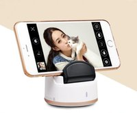 Wholesale 20pcs Christmas Selfie Robot Auto Face Tacking Multi Mode Degree Rotate Take Picture Handsfree Portable Selfie Robot Shaft Stand Holder