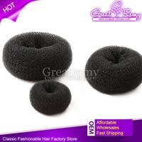 Wholesale New hair roller Beauty Easy Bun for donut hair band korea style hair extension hair disk
