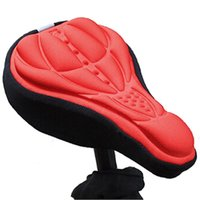 Wholesale 2015 New Arrival Gel Bike Seat Saddle Seat Cover Parts Cycling Mat Comfortable Cushion Soft for Bike Pad Light