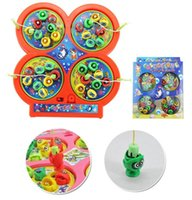 Wholesale Hot Sales Kids Children Electronic Pet Toys Puzzle Magnetic Fishing Rod Game Plastic C185