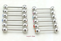 Wholesale Promotion Sale Newly Fashion Nipple Ring Simple L Stainless Steel Body Piercing Jewelry