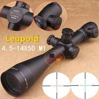 Wholesale DHL NEW Leupold Mark4 X50 M1 Mil dot Illuminated Riflescopes Rifle Scope Hunting Scope w Mounts