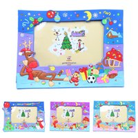 Wholesale cute gifts for children christmas gift for kids nice cartoon photo frame inch kids lovely
