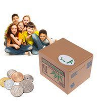 best savings bank - Best Money Boxes Coin Piggy Bank Automated Savings Box Toy Gift panda Steal Brand