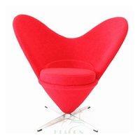 Borboleta Lazer Cadeira moderna do Moda Heart-Shaped Salão Cadeira giratória Criativa Tecido Sofa Bar Stool vender como bolos quentes