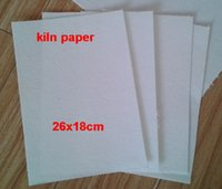 bag molds - 2016 Fiber Kilns paper bag for Glass Fusing In Microwave Kiln