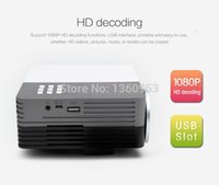 Wholesale Free Gift tripod GM50 Mini LED Projector projektor proyector Theater For Projectors Movie Support HDMI VGA AV Portable beamer
