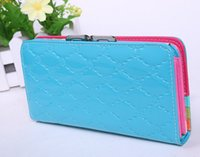 Wholesale 2014 New fashion lady s wallet beautiful purse hand bag