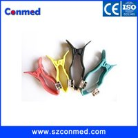 Wholesale High quality Comaptible Adult Universal Limb clamp for Banana Din Pack with set ECG EKG Limb clamps Adult