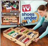 Wholesale New Organizer Pair Shoes Storage Organizer Storage Box Holder Used Closet Holds Hot Selling New