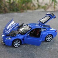 Wholesale 155 mm Jaguar XKR S pull back car with sound and light simulation alloy model car children pull back car toy