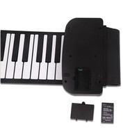 Wholesale 61 Keys Flexible Roll Up Piano USB MIDI Electronic Keyboard Hand Roll Piano